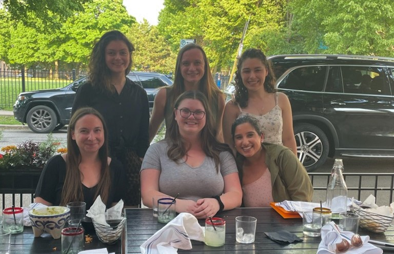Lab Members Celebrating Surviving the 2020-2021 Year